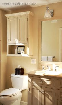 Bathroom Cabinet Above Toilet Height