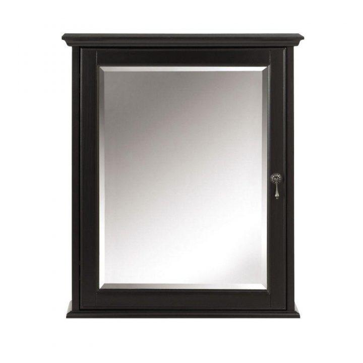 Bathroom Medicine Cabinet With Mirror Black