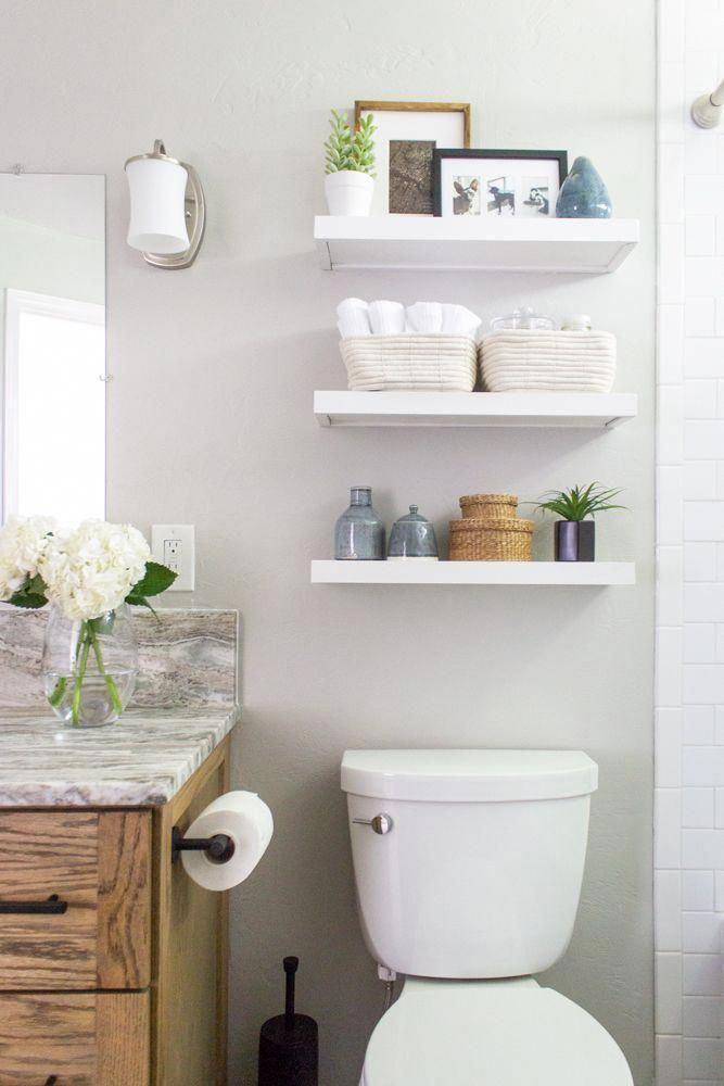 Bathroom Shelf Above Toilet