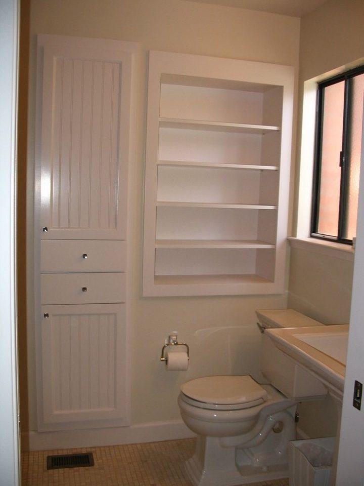 Bathroom Storage Recessed Cabinet