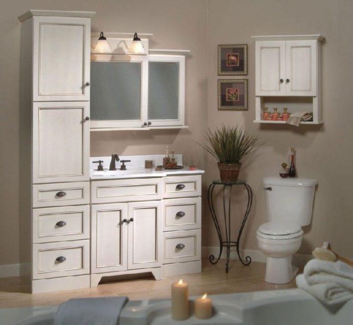 Bathroom Vanity And Towel Cabinet